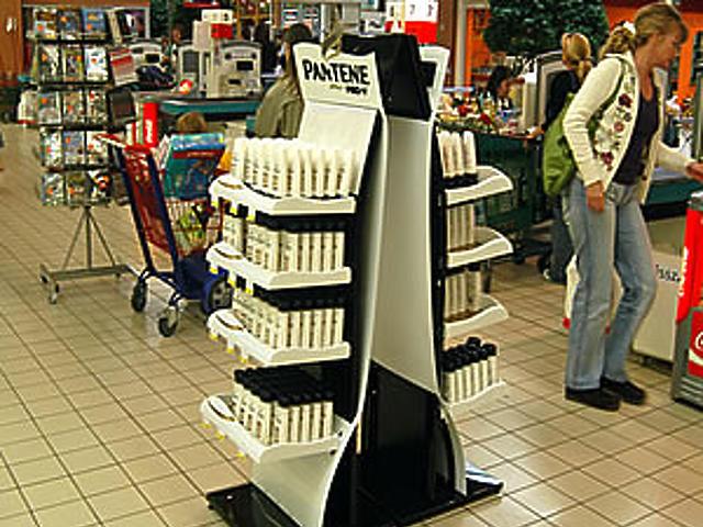 Intenzív bolti megjelenés