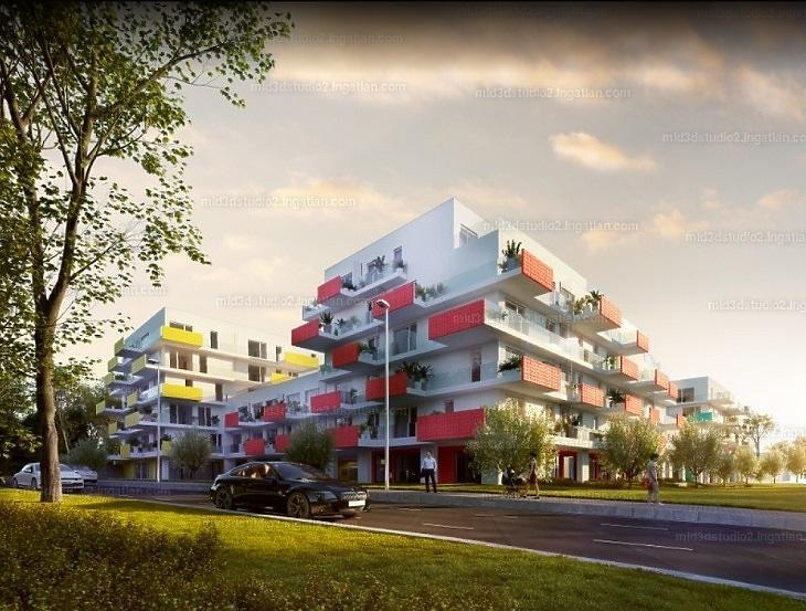 A Paskal Rose-ban közel 60 millióért kapható lakás (Forrás:ingatlan.com)