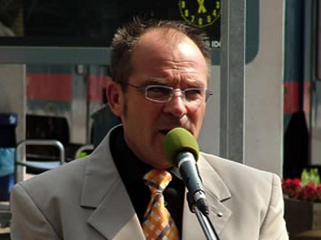 Kavalecz Imre, a MÁV Rt. szóvivője