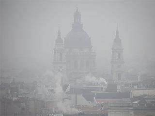Szmogriadó van Budapesten