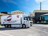Conti Hybrid gumiabroncs segíti a MAN elektromos teherautóit a mindennapi áruszállítás során