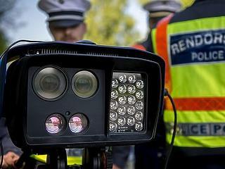Izzik a traffipax, országos sebességellenőrzést tart a héten a rendőrség