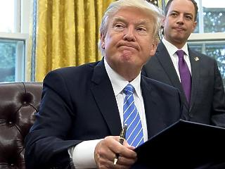 Trump: felmondjuk a nukleáris megállapodást