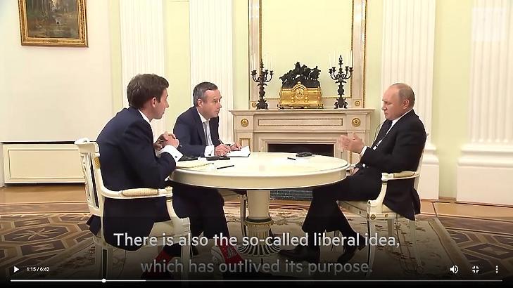 Putyin interjút ad a Financial Times újságíróinak - Forrás: ft.com