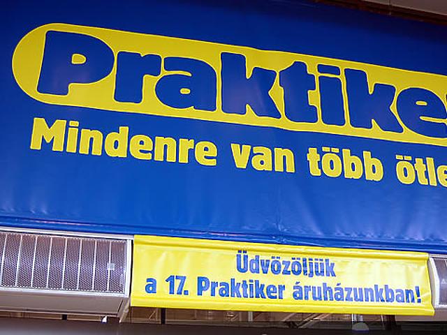 Praktiker-áruház nyitás