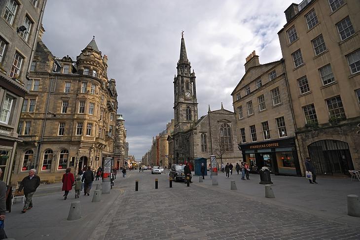 Edinburgh, Skócia. (Forrás: Depositphotos)