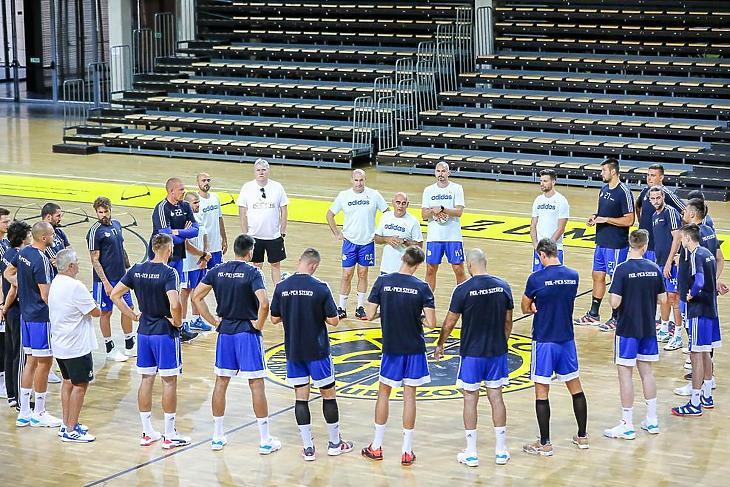 Edzőtábor Szombathelyen (Fotó: pickhandball.hu)
