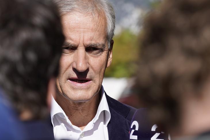 Jonas Gahr Store, Norvégia megválasztott miniszterelnöke. (Fotó: MTI/EPA/NTB/Terje Bendiksby)