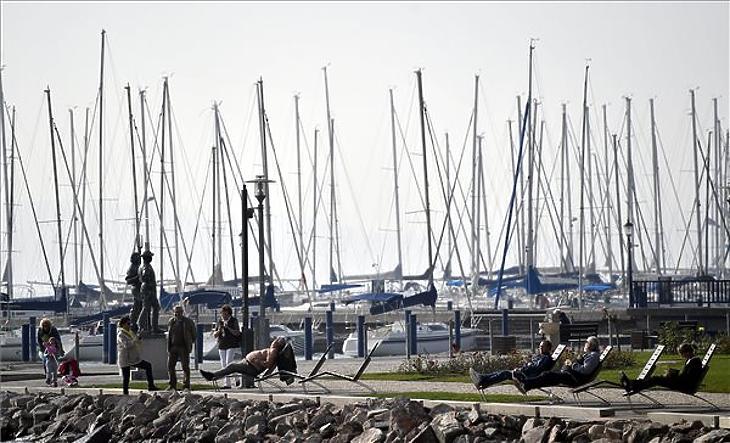 Értékes kikötőkről folyik a vita (fotó: MTI)