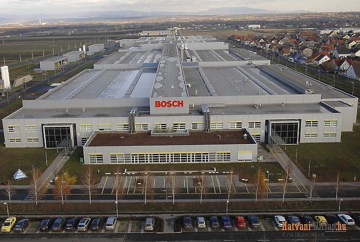 A Bosch egyik magyarországi gyára