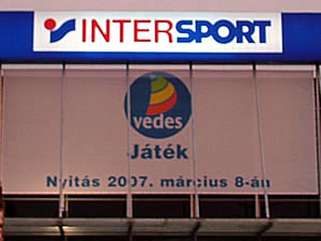 Intersport a Kika szomszédságában