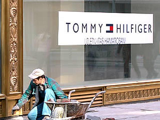 Áprilisban nyit a Tommy Hilfiger