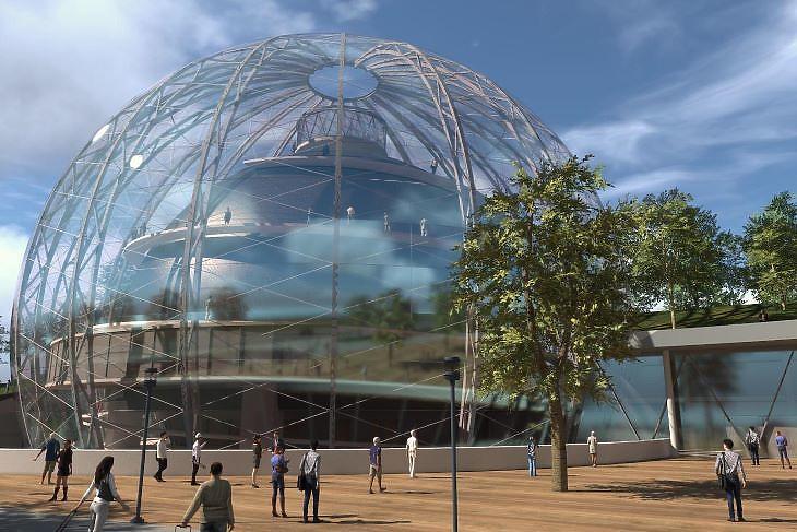 Ilyennek álmodták meg a Cirkuszművészeti Központot a Nyugatinál (fotó: kormany.hu)