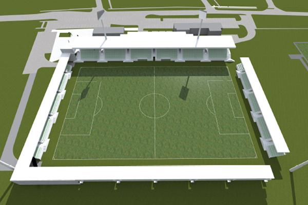 Ilyen lesz, ha elkészül a paksi stadion