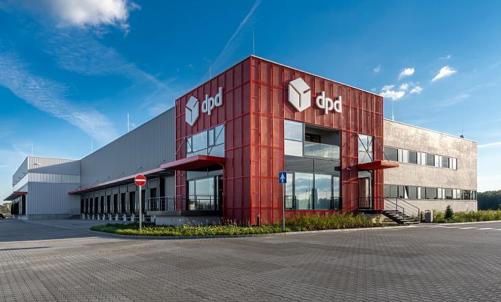 A dpd vállalat új logisztikai központja (forrás: Market Zrt.)