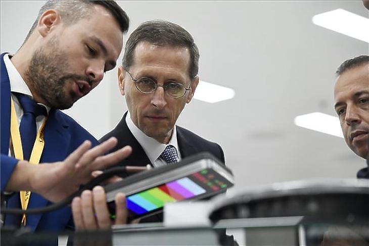 Varga Mihály pénzügyminiszter (Fotó: Koszticsák Szilárd/MTI)