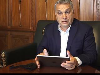 Orbán Viktor megint üzent: