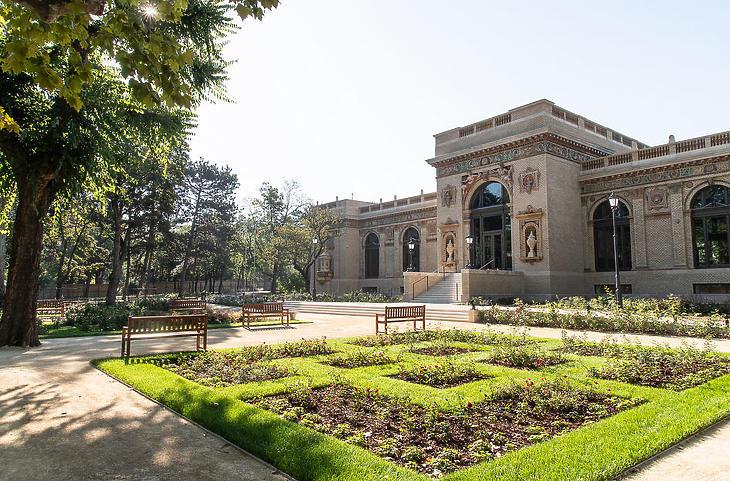 A Millennium Háza (Forrás: ligetbudapest.hu)