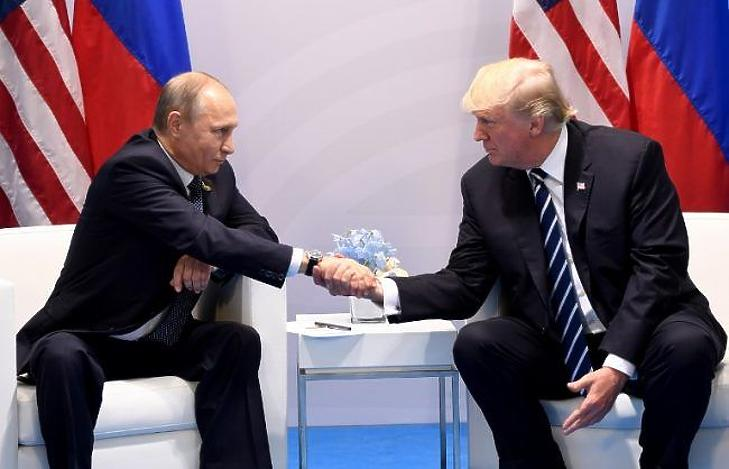 Vlagyimir Putyin és Donald Trump . (Illusztráció, AFP)