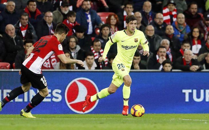 Athletic Bilbao - FC Barcelona mérkőzés a La Ligában. Forrás: fcbarcelona.com