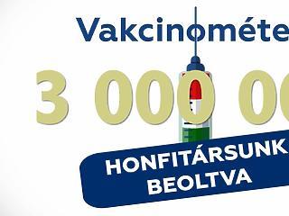Újabb pipa: megvan a 3 millió beoltott Magyarországon