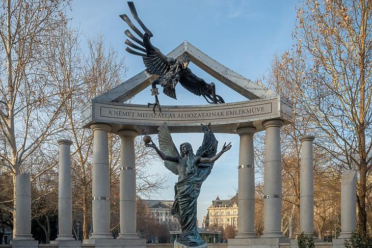 Német megszállás emlékműve