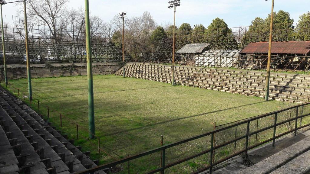 A margitszigeti teniszstadion. (via Átlátszó)