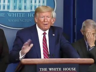 Koronavírus: Trump nem fogadja el a szakértők javaslatát