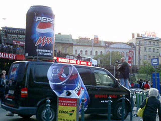 Pepsi Max akció