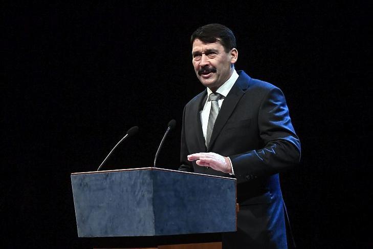 Áder János köztársasági elnök (Fotó: MTI/Máthé Zoltán)