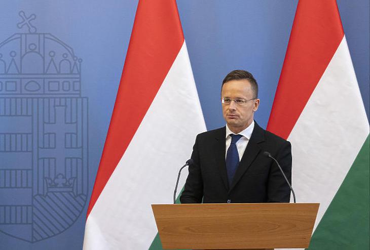 Szijjártó Péter külgazdasági és külügyminiszter újabb nagyberuházást jelentett be (Forrás: MTI/Szigetváry Zsolt)