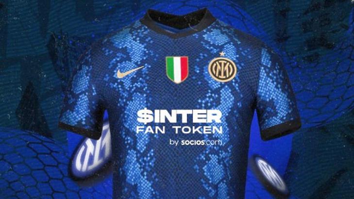 Az Inter az örökös szponzorát cserélte le a Socios kedvéért (Forrás: Socios)