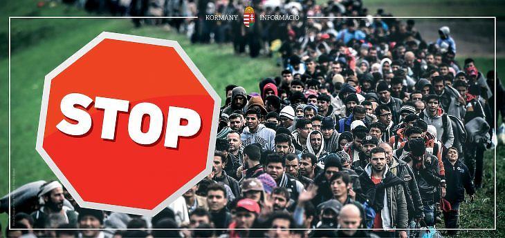 A kampányplakátok egyike