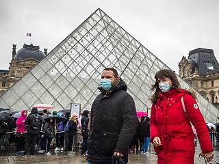 Egy nap alatt 372-vel ugrott meg a fertőzöttek száma Franciaországban
