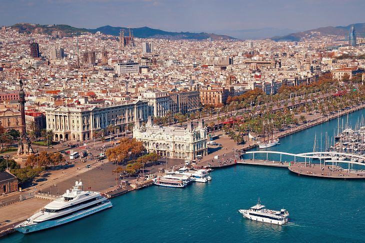 Barcelona, a katalán főváros. (Forrás: Depositphotos)