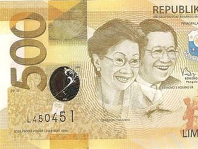 500 peso - Fülöp-szigetek