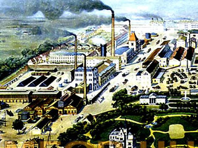 Ahogy a festő látta a gyárat