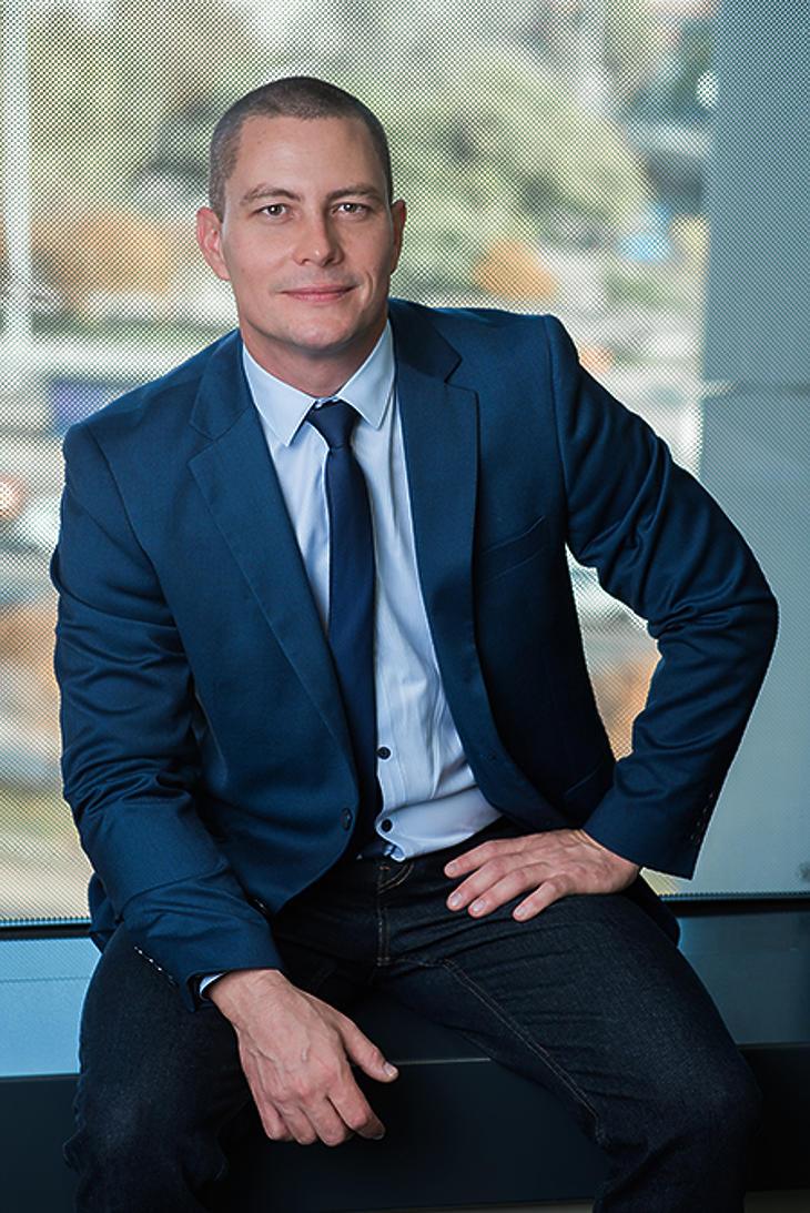 Gyetvai Károly, a Raiffeisen Alapkezelő vezető értékesítés-támogatója