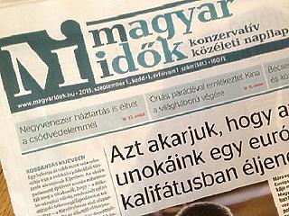 Megszűnhet a Magyar Idők