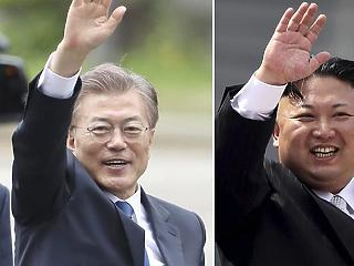 Dél-Korea most már nagyon aláírná a békeszerződést Észak-Koreával