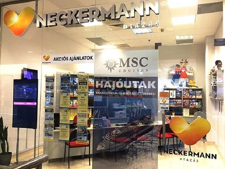 Egy Neckermann iroda. (Fotó: Neckermann)