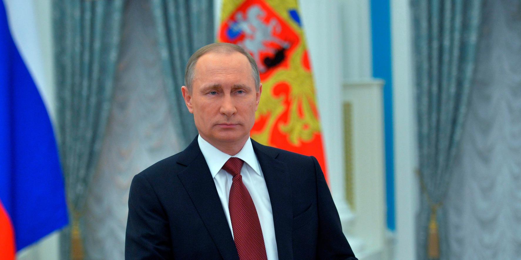 A nagy esélyes, Vlagyimir Putyin.