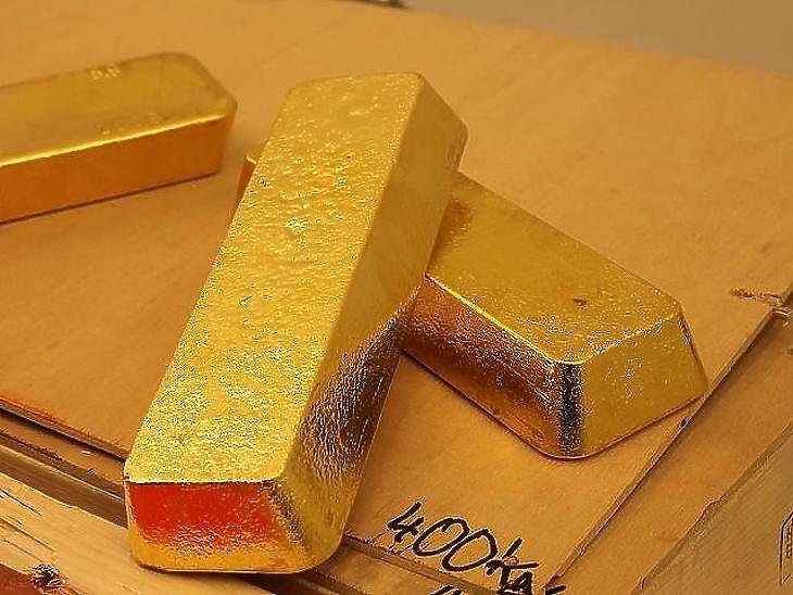 Az MNB itthon tárolja az aranyrudjait. Fotó: MTI
