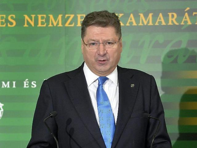Parragh László, forrás: MTI