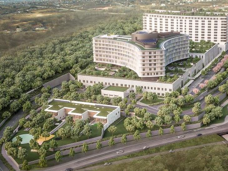 Futó nagy állami építési beruházások