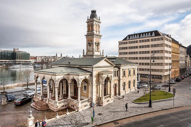 Az Ybl Vízház épülete. Fotó: Pallas Alapítványok