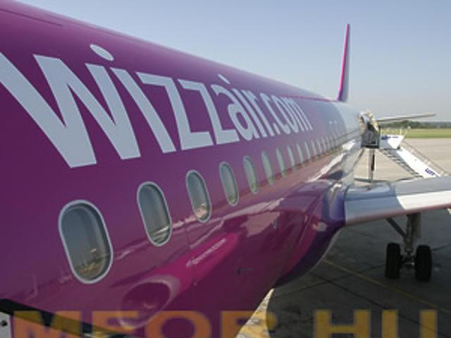 A WizzAir Airbus 320-asai
