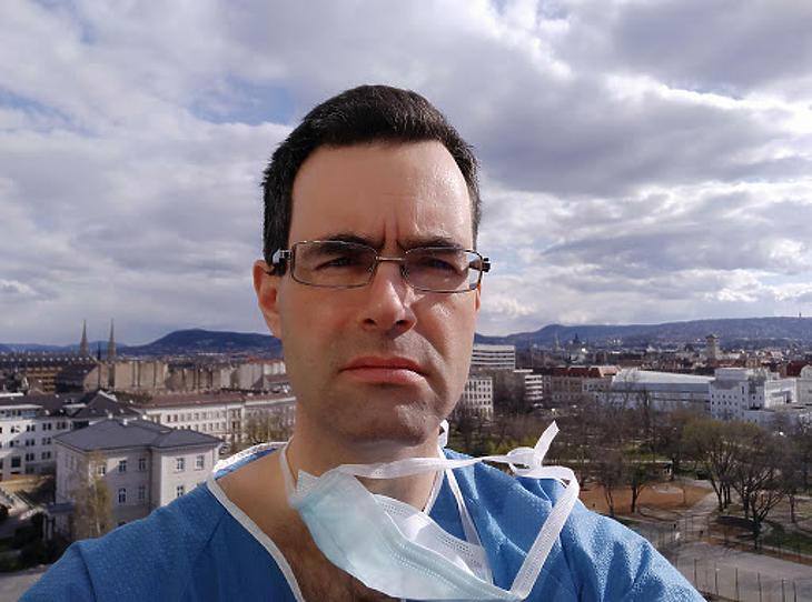 Dr. Svéd Tamás, a Magyar Orvosi Kamara titkára. Fotó: MOK