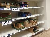 4 százalék alatt az infláció, de az égbe tolta az élelmiszerárakat a vásárlási roham