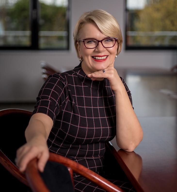 Dr. Búza Éva, a Garantiqa Hitelgarancia Zrt. vezérigazgatója